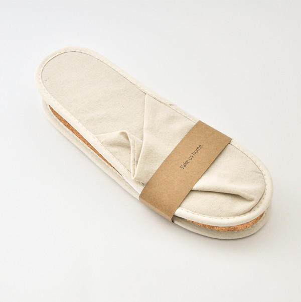 Cork Flax Slippers ECO 28cm