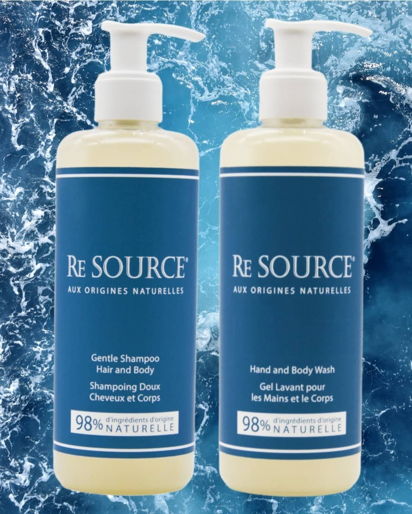 RE SOURCE 5L Hand & Body Wash Fleurs d'eau