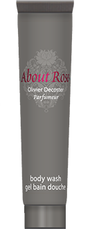 About Rose Love Letters 30ml Gel bain douche