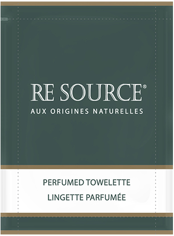[RESLING200] RE SOURCE Perfumed Towelette