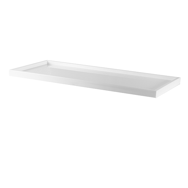 [TRAY1WHITE] Presentation Tray Plexiglass White